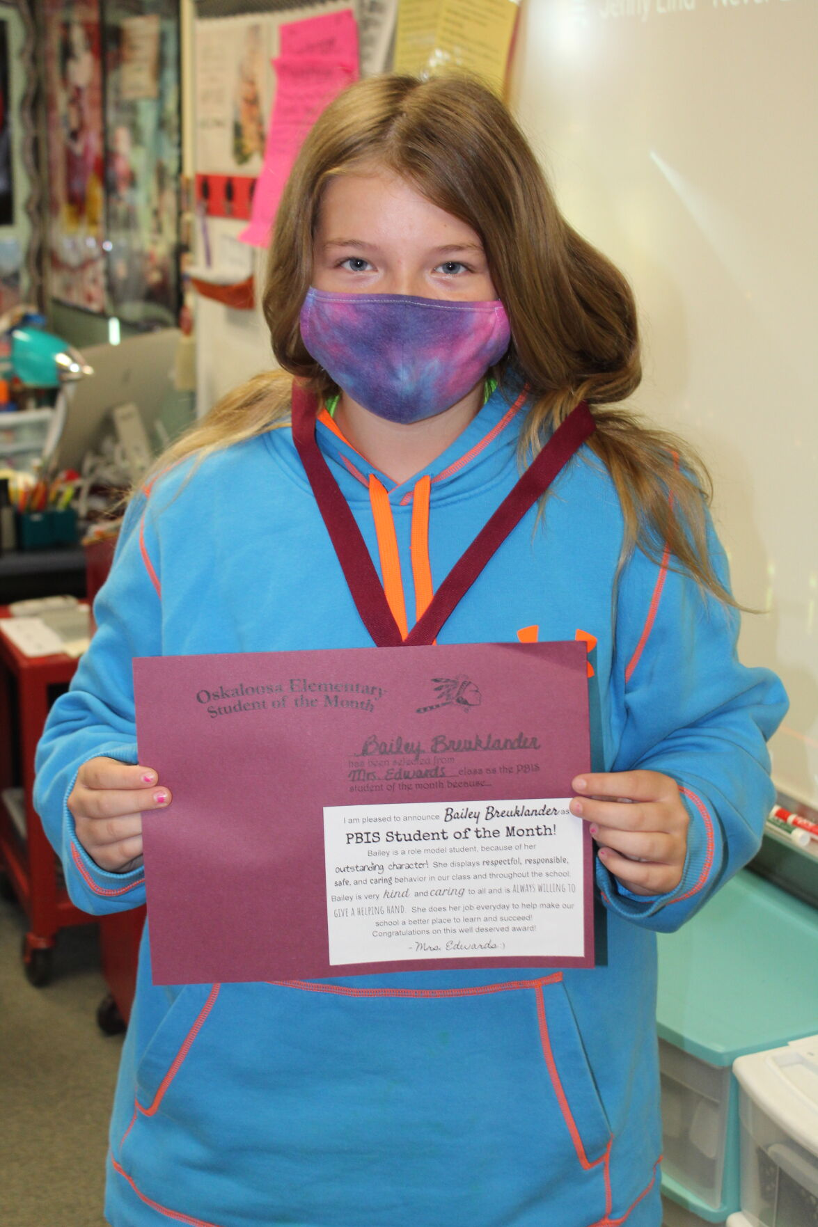 Bank Iowa Student of the Month: Bailey Breuklander