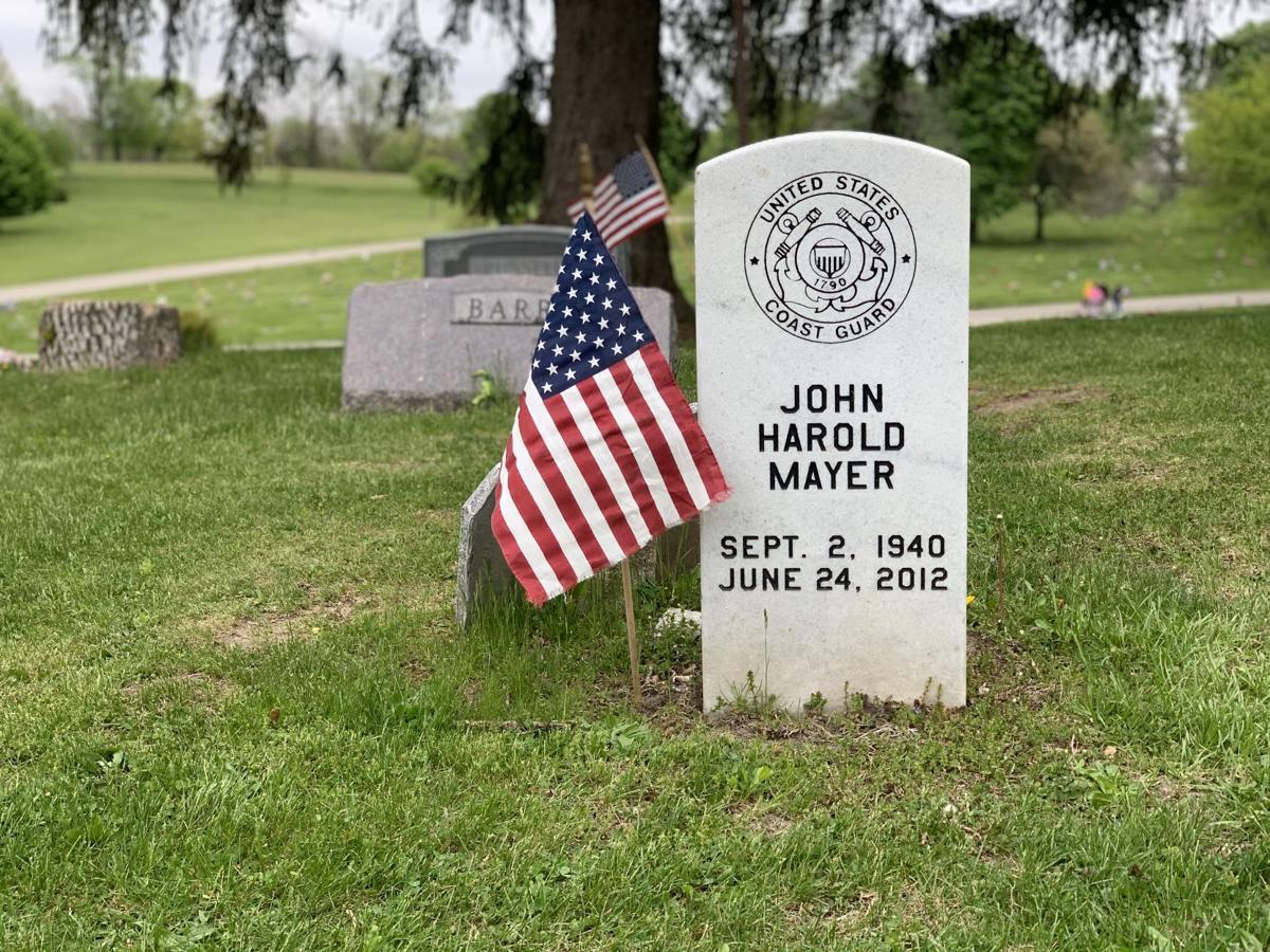American Legion Veterans and volunteers prepare for Memorial Day