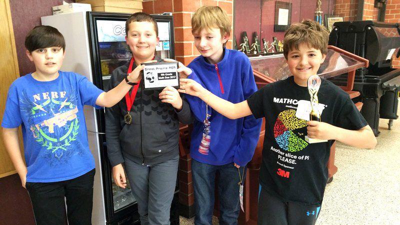 OMS 6th-graders win Math Bee | News | oskaloosa com