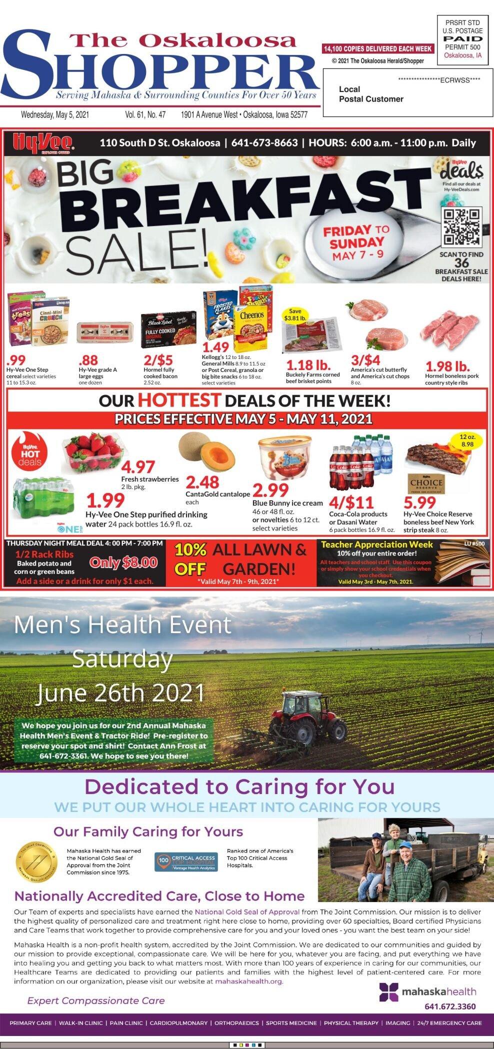 The Oskaloosa Shopper week of 05/05/21