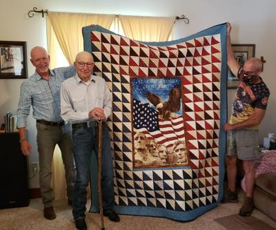 Local veteran honored with Quilt of Valor