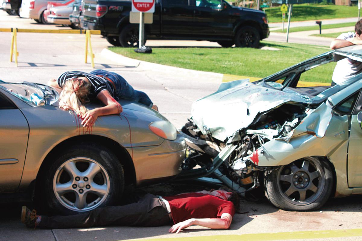 Drunk Driver Crashes Into Police Car