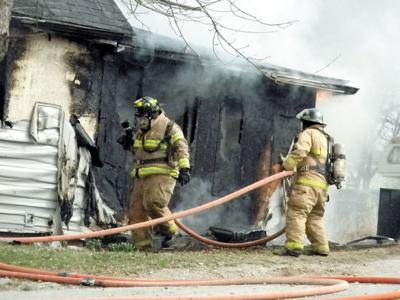 Centerville house fire this morning