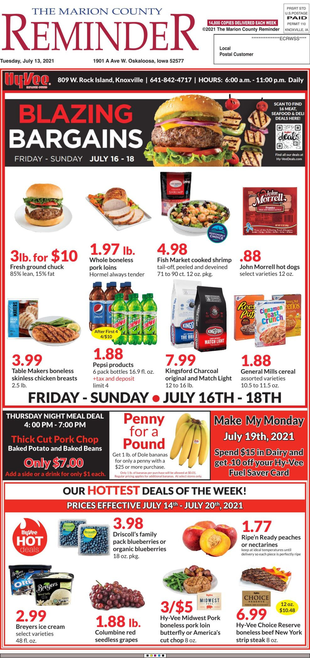 The Marion County Reminder week of 07/13/21