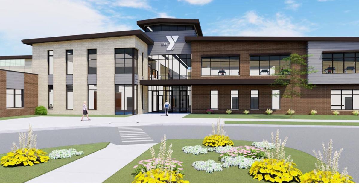 YMCA Entrance Rendering