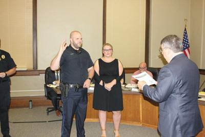 Sirovy sworn in to Osky Police Department