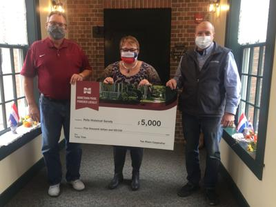 Two Rivers Cooperative awards $5,000 grant to Pella Historical Society