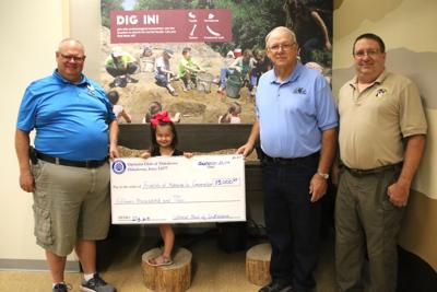 Optimists fund dig table