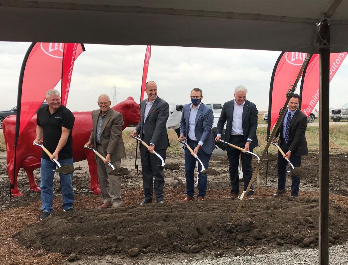 Lely North America breaks ground on new headquarters (copy)