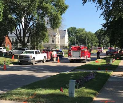 Underground cable explosion causes injuries, power outage