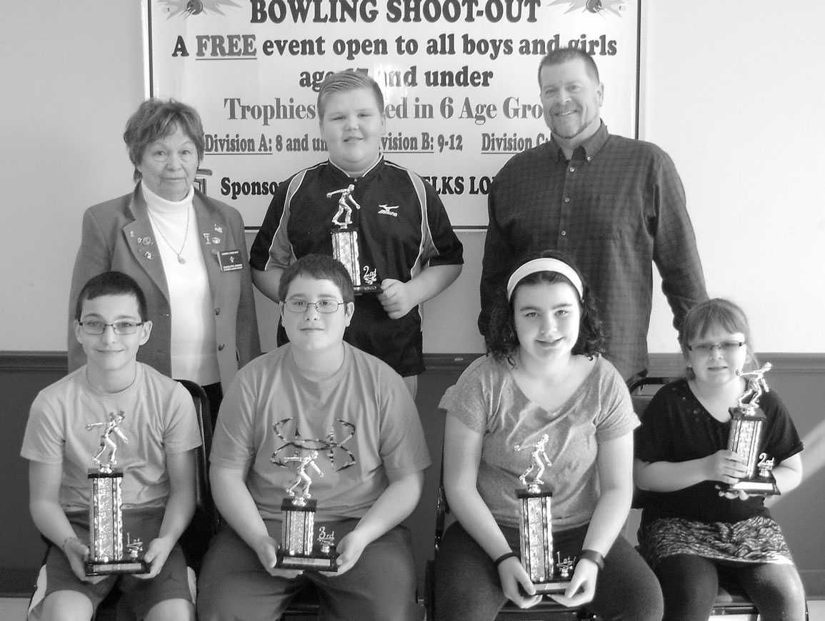 Oswego Elks Youth Bowling Shoot-Out results are listed