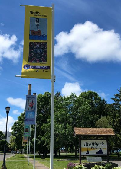 Third annual My Hometown Banners on display in city of Oswego