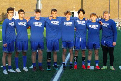 Oswego boys soccer seniors