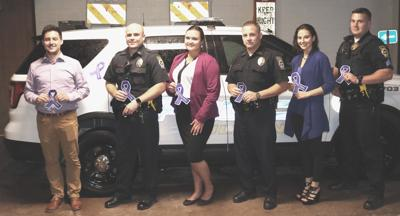 Fulton City Police Department to signify Domestic Violence Awareness Month