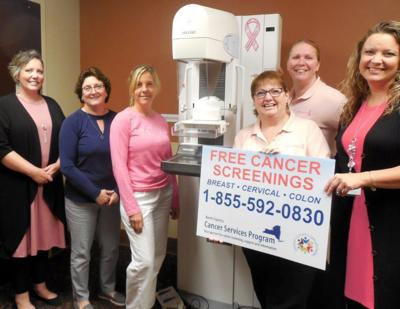 OCO's Cancer Services Program partners with Oswego Health to offer mammograms on Saturday 10/19