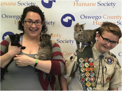 Local scout's Eagle project to help Humane Society