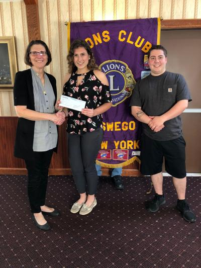 Oswego Lions Club awards scholarship