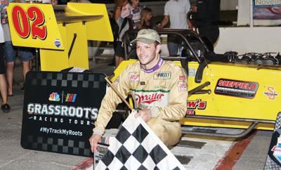 Supermodified race winner