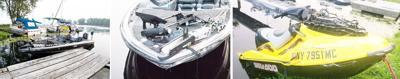 Jet Ski and Bass fishing boat collision