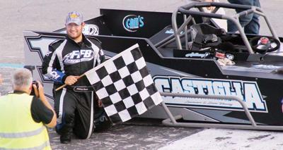 Pathfinder Bank SBS twin 20s this Saturday at Oswego Speedway