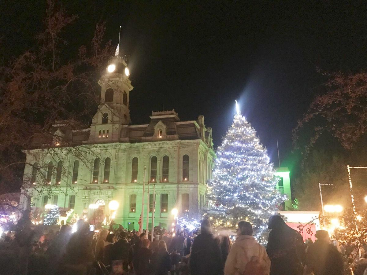 Virtual tree lighting, fireworks tonight