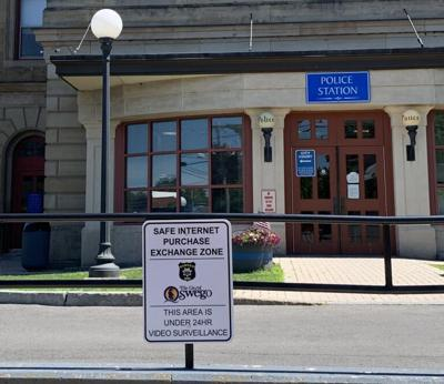 """Barlow announces two """"Safe Internet Purchase Exchange Locations"""" in Oswego"""