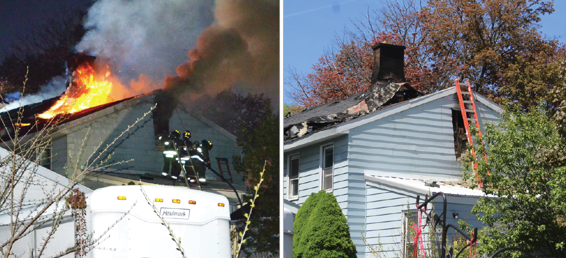 Oswego Fire Department releases details on Wednesday blaze