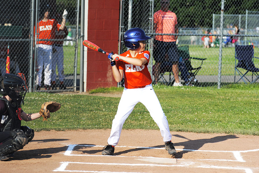 At the plate