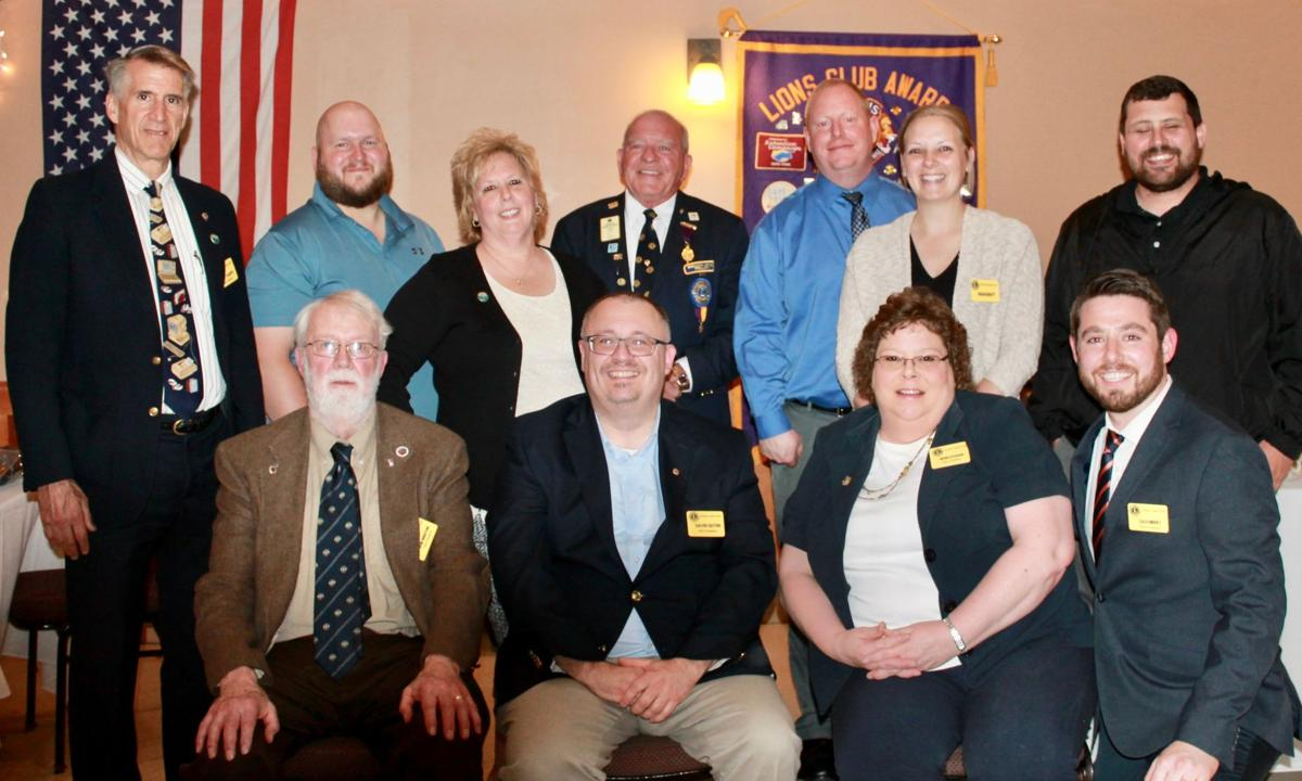 Fulton Lions Installs New President Foster Recognized