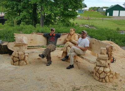 Mexico Point Park epic woodcutting of William Casey carries on through COVID