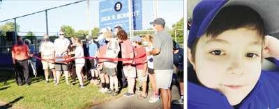 'Jack's legacy will be his kindness' City dedicates street hockey rink to late Fitzhugh Park student