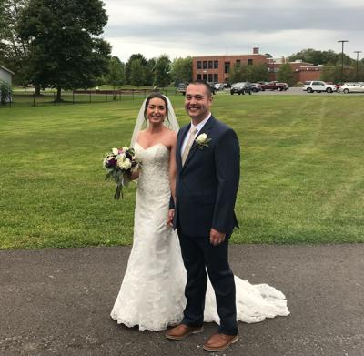 Pall-Times reporter weds