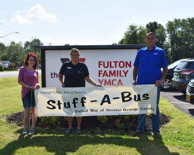 Fulton Family YMCA supports Stuff-A-Bus