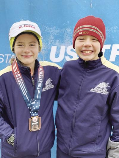 Andy, Madeleine Shaver run at XC junior nationals