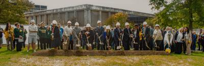 2021 Hewitt Hall groundbreaking