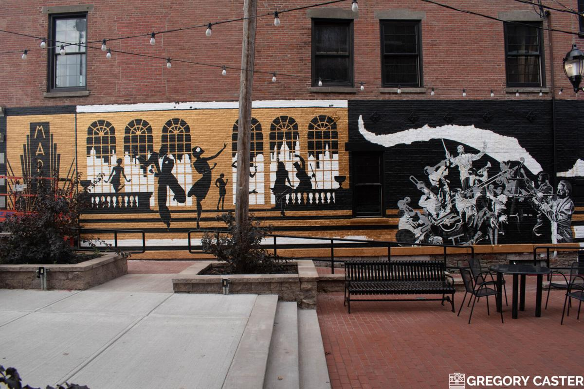 Dancing in the streets: Water Street Square mural channels neighborhood's lyrical past