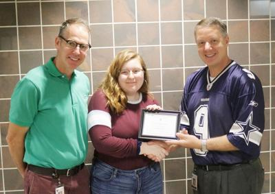 JCB senior receives national accolade after strong PSAT score