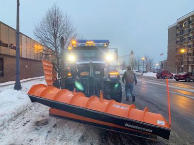 City braces under first major winter event