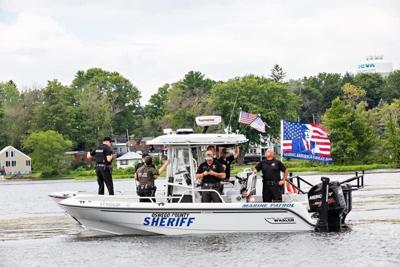 Sheriff says no problems with flying Trump campaign flag on county boat