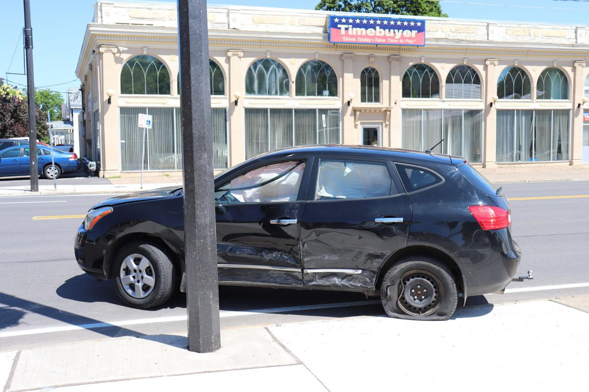 One injured in two vehicle accident