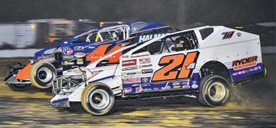 DIRTcar racing action