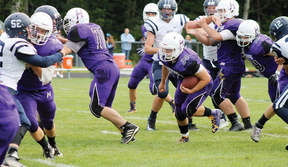 Hannibal football team hopes to keep running game going vs. Phoenix