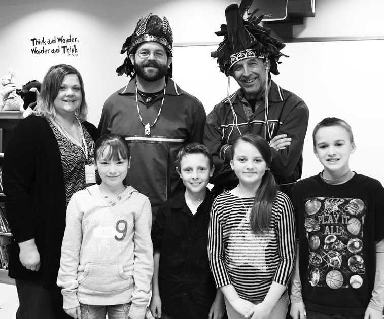 Native American writers and storytellers visit Lanigan