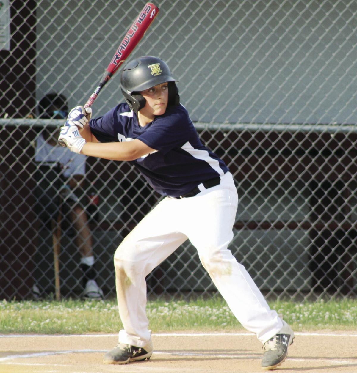 DeGrenier gets ready to swing