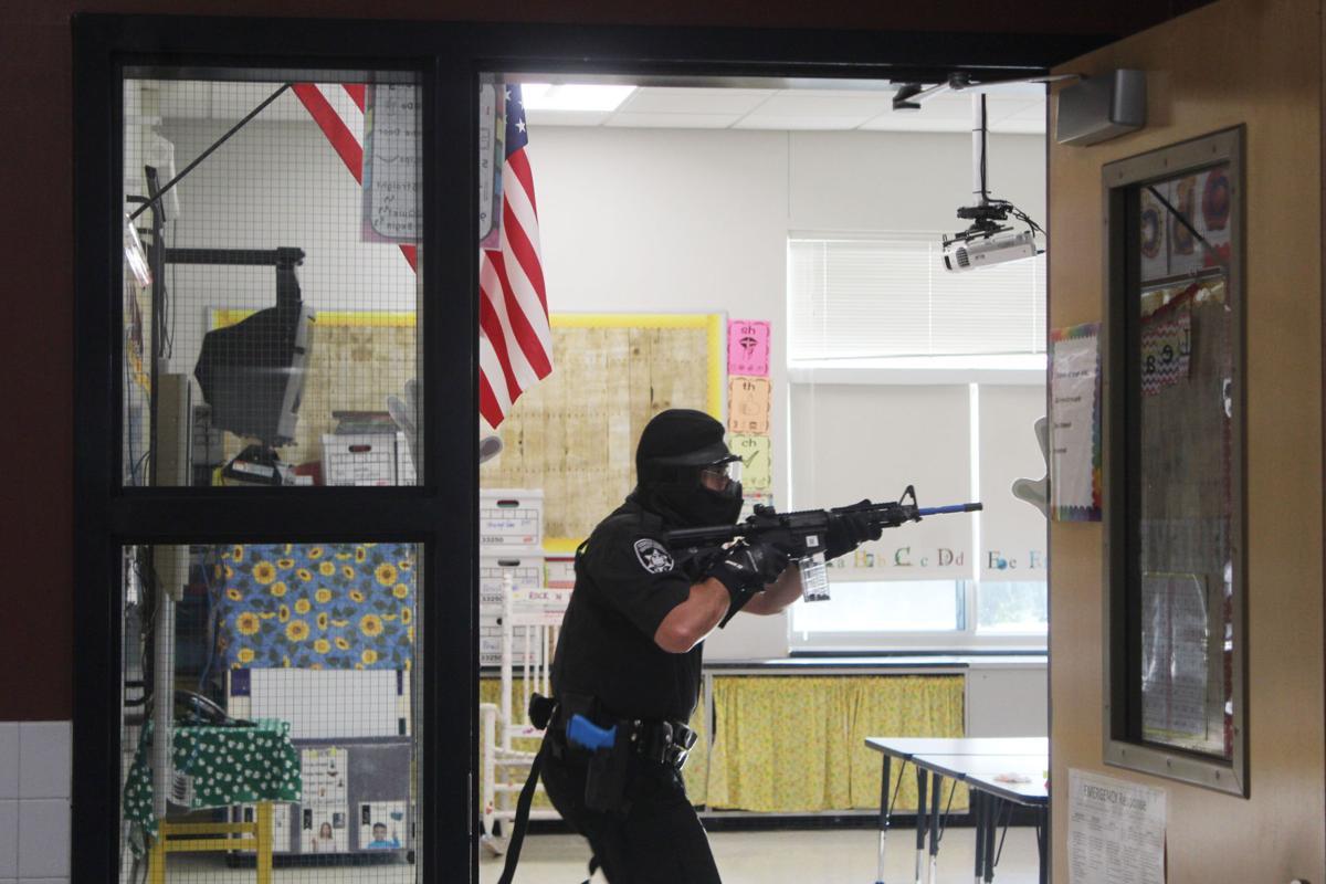 Shooting drill 3