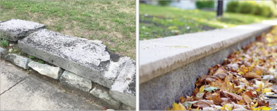 The mending wall: Richardson-Bates repairs centuries-old exterior barrier