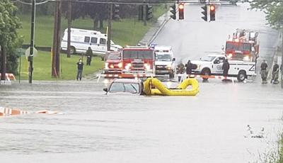City seeking solutions for flooding, sewer overflow at Utica St. and Hillside