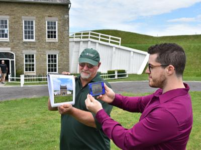 SUNY Oswego graduate student helps bring Fort Ontario history alive
