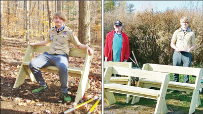 Phoenix's Jeff Horner finishes Eagle Scout project at Great Bear