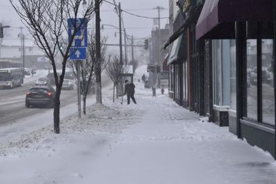 Snowfall totals a fraction of average winter